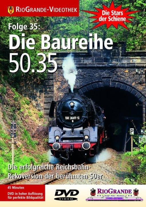 DVD: Stars der Schiene 35. Die Baureihe 50.35 - Die erfolgreiche Rekoversion der 50er