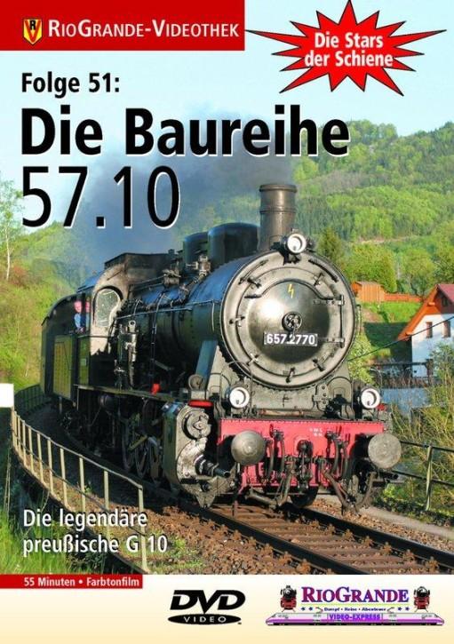DVD: Stars der Schiene 51. Die Baureihe 57.10