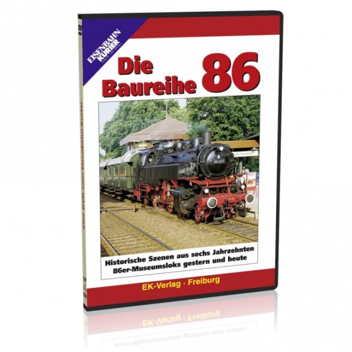 DVD: Die Baureihe 86. Historische Szenen aus sechs Jahrzehnten, 86er Museumsloks gestern und heute