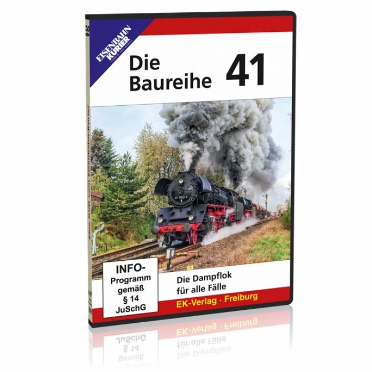 DVD: Die Baureihe 41. Die Dampflok für alle Fälle