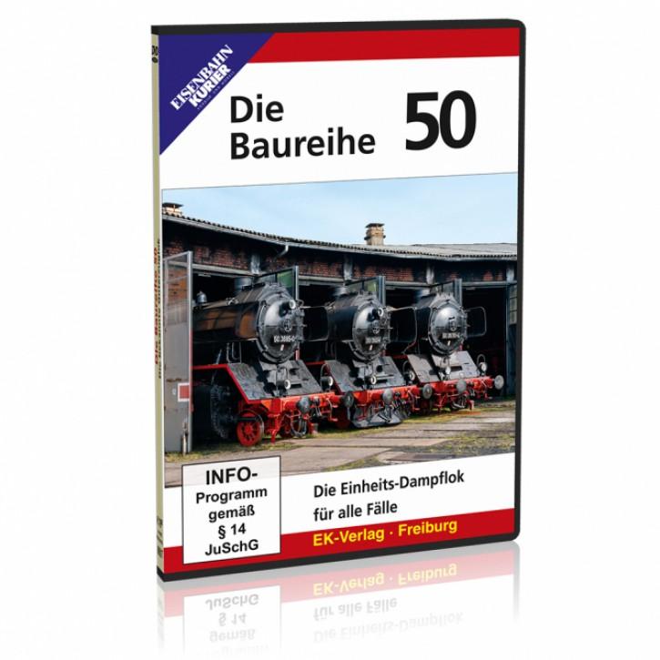 DVD: Die Baureihe 50. Die Einheits-Dampflok für alle Fälle