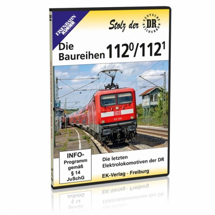 DVD: Die Baureihen 112.0 und 112.1. Die letzten Elloks der DR