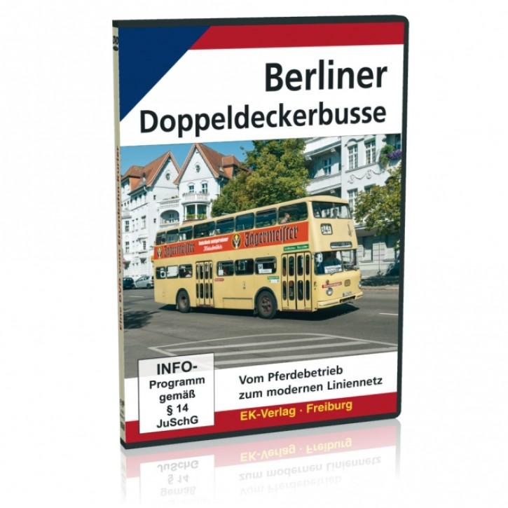 DVD: Berliner Doppeldeckerbusse. Vom Pferdebetrieb zum modernen Liniennetz
