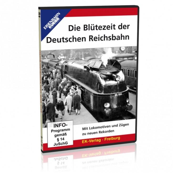 DVD: Die Blütezeit der deutschen Reichsbahn. Mit Lokomotiven und Zügen zu neuen Rekorden