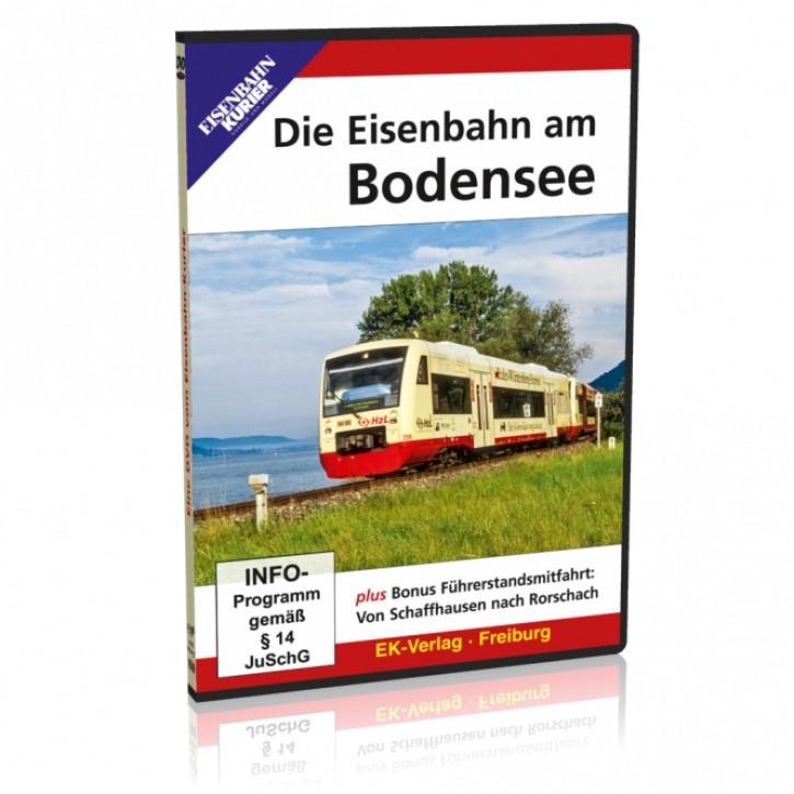 DVD: Die Eisenbahn am Bodensee inklusive Führerstandsmitfahrt von Schaffhausen nach Rorschach