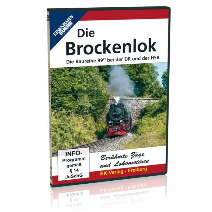DVD: Die Brockenlok. Die Baureihe 99.23 bei der DR und der HSB