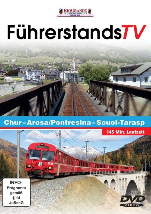 DVD: FührerstandsTV. Chur - Arosa/Pontresina - Scuol-Tarasp