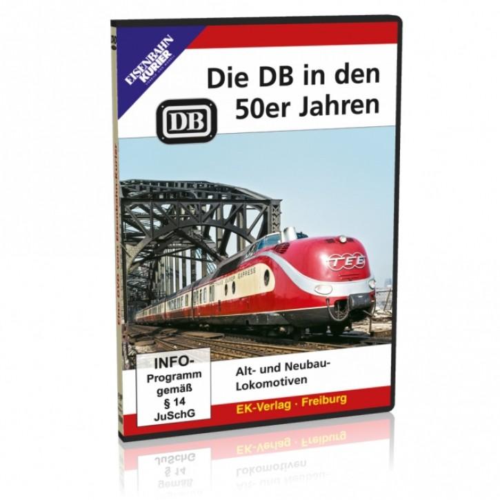 DVD: Die DB in den 50er Jahren. Alt- und Neubaulokomotiven
