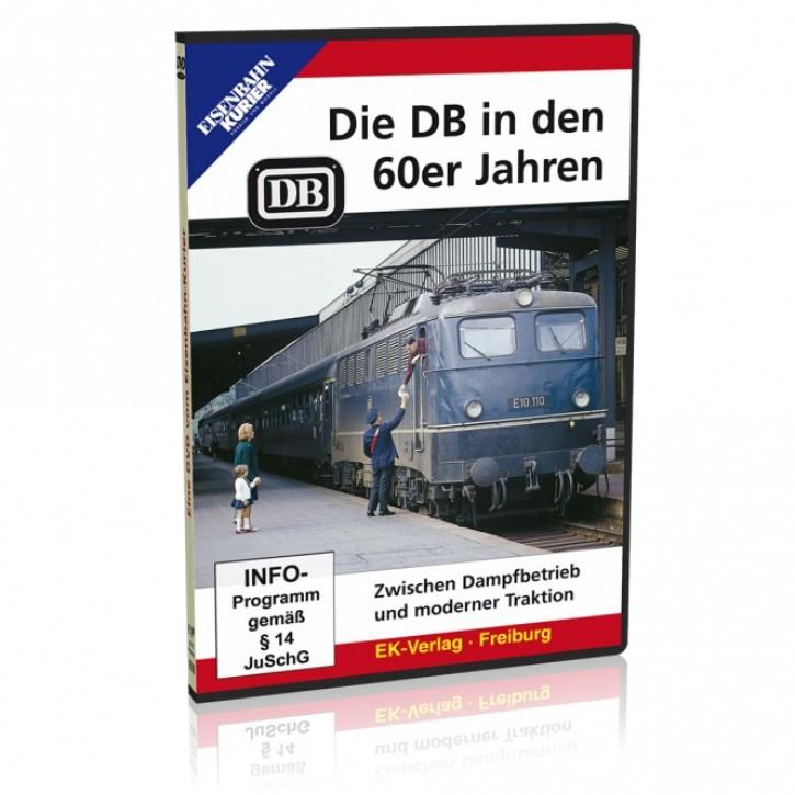 DVD: Die DB in den 60er Jahren. Zwischen Dampfbetrieb und moderner Traktion