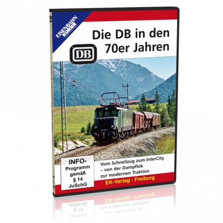DVD: Die DB in den 70erJahren. Vom Schnellzug zum Intercity - von der Dampflok zur modernen Traktion