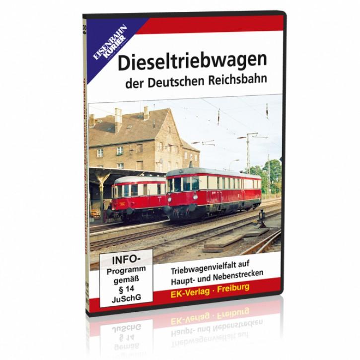 DVD: Dieseltriebwagen der Deutschen Reichsbahn. Triebwagenvielfalt auf Haupt- und Nebenstrecken