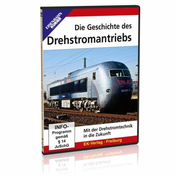 DVD: Die Geschichte des Drehstromantriebs. Mit der Drehstromtechnik in die Zukunft