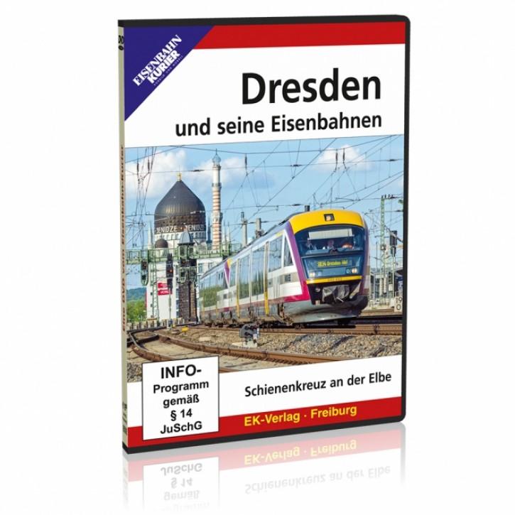 DVD: Dresden und seine Eisenbahnen. Schienenkreuz an der Elbe