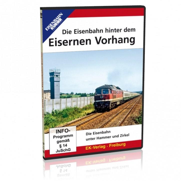 DVD: Die Eisenbahn hinter dem Eisernen Vorhang. Die Eisenbahn unter Hammer und Zirkel