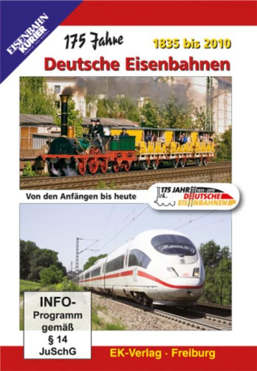 DVD: 175 Jahre Deutsche Eisenbahnen. 1835 bis 2010. Von den Anfängen bis heute