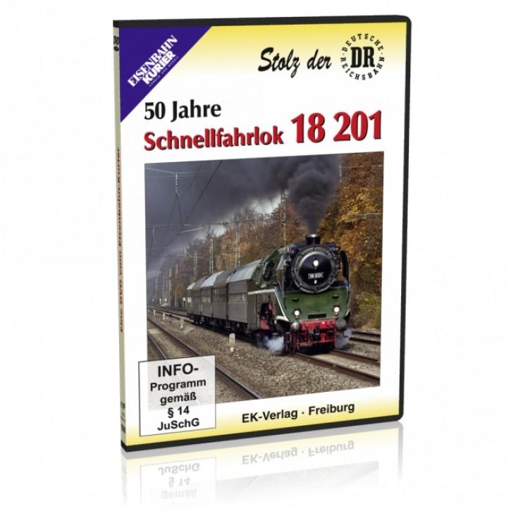 DVD: Stolz der DR. 50 Jahre Schnellfahrlok 18 201