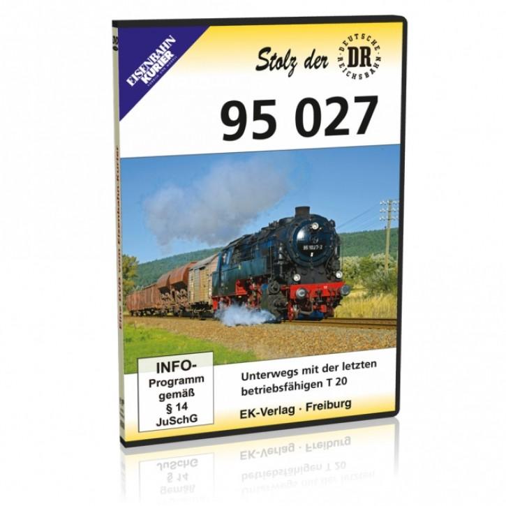 DVD: Stolz der DR. 95 027. Unterwegs mit der letzten betriebsfähigen T 20