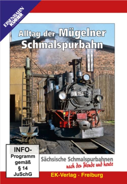 DVD: Alltag der Mügelner Schmalspurbahn. Sächsische Schmalspurbahnen nach der Wende und heute