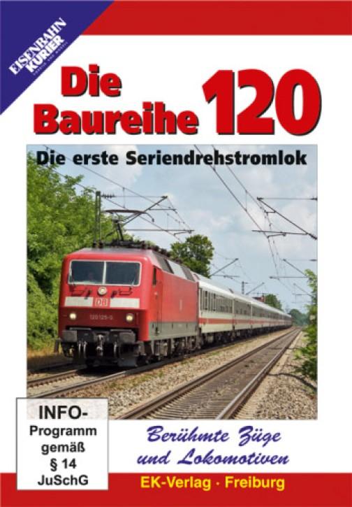 DVD: Die Baureihe 120. Die erste Seriendrehstromlok