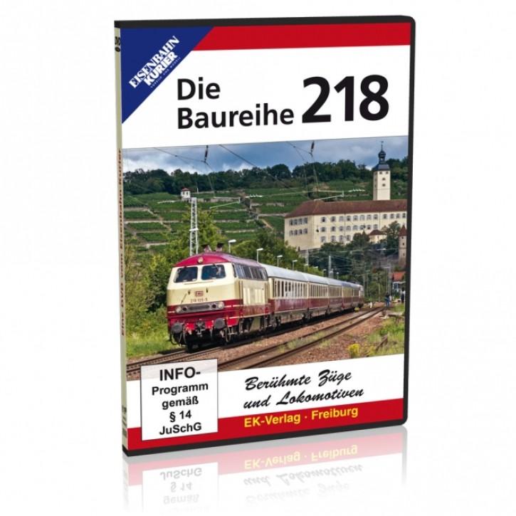 DVD: Die Baureihe 218