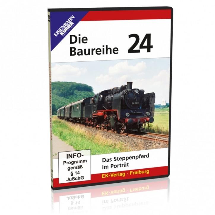 DVD: Baureihe 24. Das Steppenpferd im Porträt