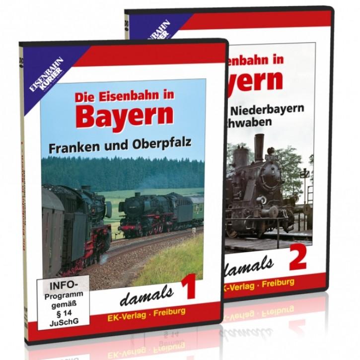 DVD: Die Eisenbahn in Bayern damals Teile 1 & 2 im Paket