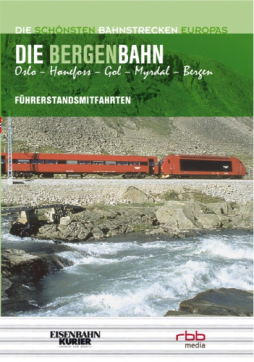 DVD: Die Bergenbahn Oslo - Hanefoss - Gol - Myrdal - Bergen