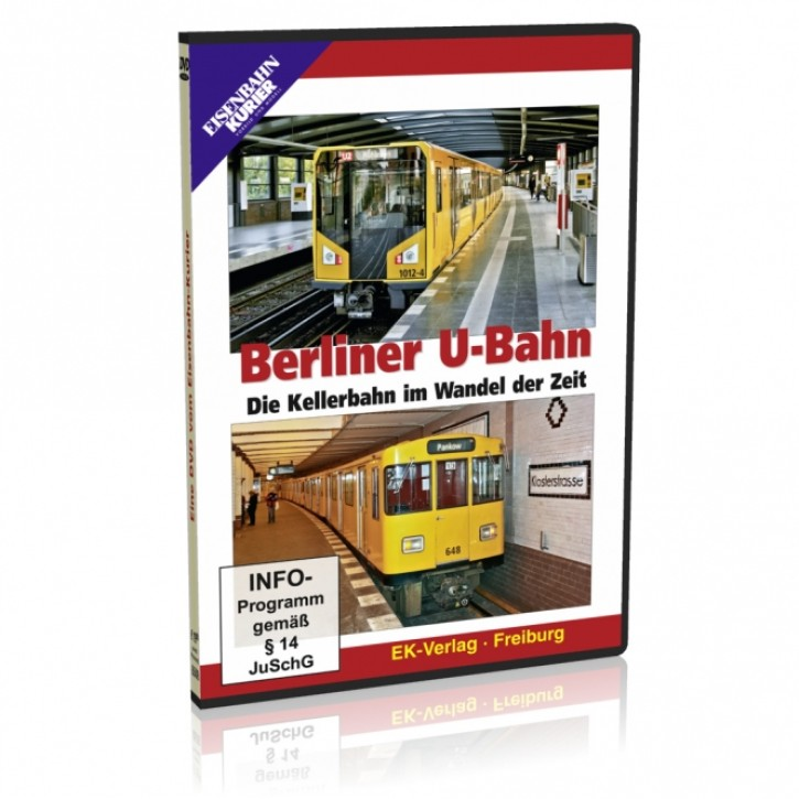 DVD: Berliner U-Bahn. Die Kellerbahn im Wandel der Zeit