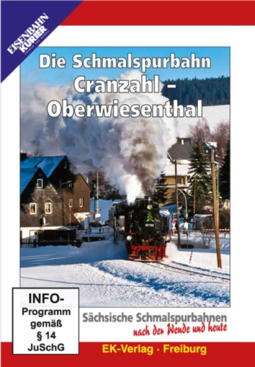 DVD: Die Schmalspurbahn Cranzahl - Oberwiesenthal. Sächsische Schmalspurbahnen nach der Wende und heute
