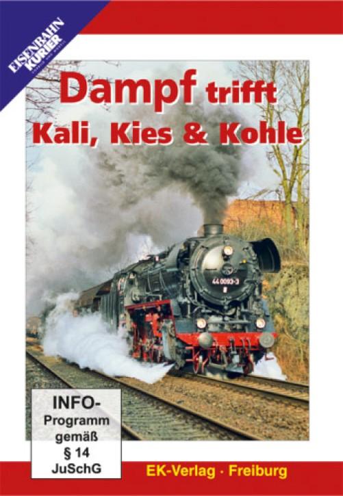 DVD: Dampf trifft Kali, Kies und Kohle