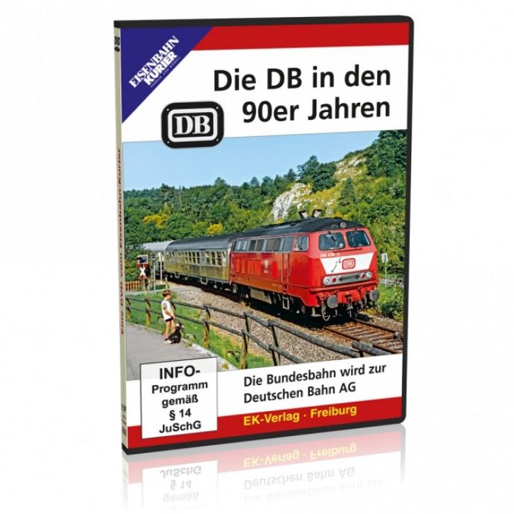 DVD: Die DB in den 90er Jahren. Die Bundesbahn wird zur Deutschen Bahn AG