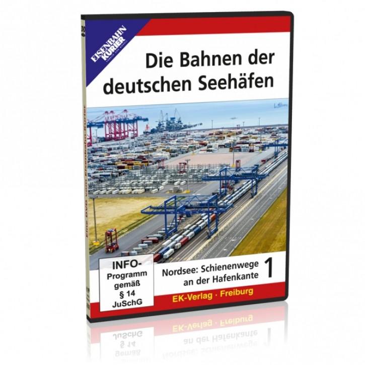DVD: Die Bahnen der deutschen Seehäfen Teil 1 Nordsee: Schienenwege an der Hafenkante