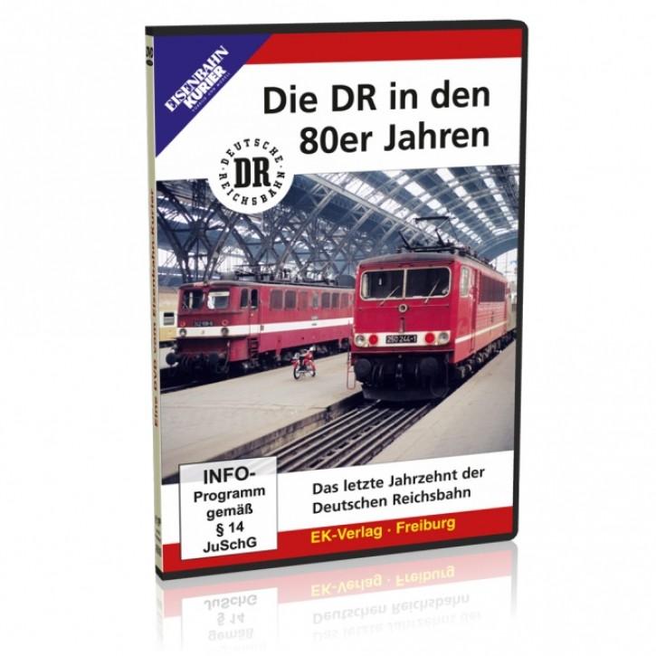 DVD: Die DR in den 80er Jahren. Das letzte Jahrzehnt der Deutschen Reichsbahn