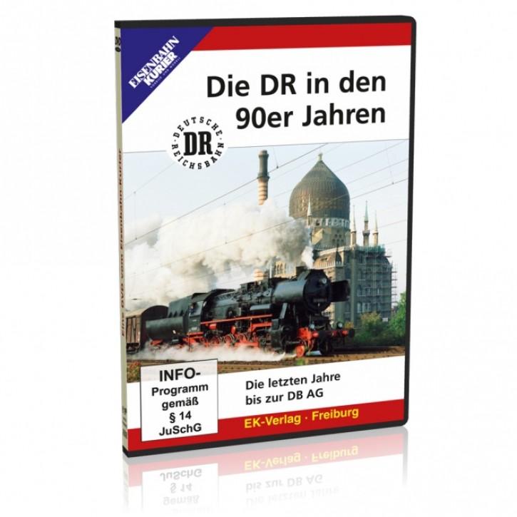 DVD: Die DR in den 90er Jahren. Die letzten Jahre bis zur DB AG