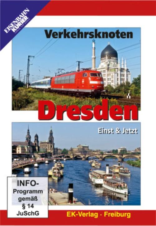 DVD: Verkehrsknoten Dresden. Einst & Jetzt