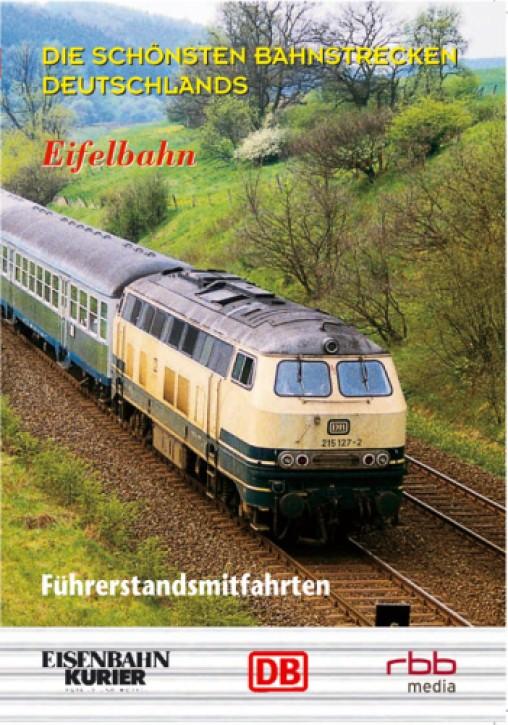 DVD: Die schönsten Bahnstrecken Deutschlands. Eifelbahn Köln - Trier
