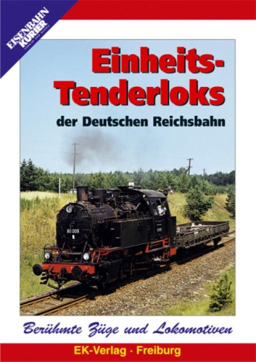 DVD: Einheits-Tenderloks der Deutschen Reichsbahn