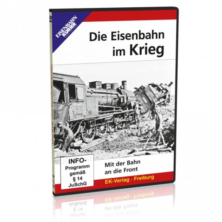 DVD: Die Eisenbahn im Krieg. Mit der Bahn an die Front