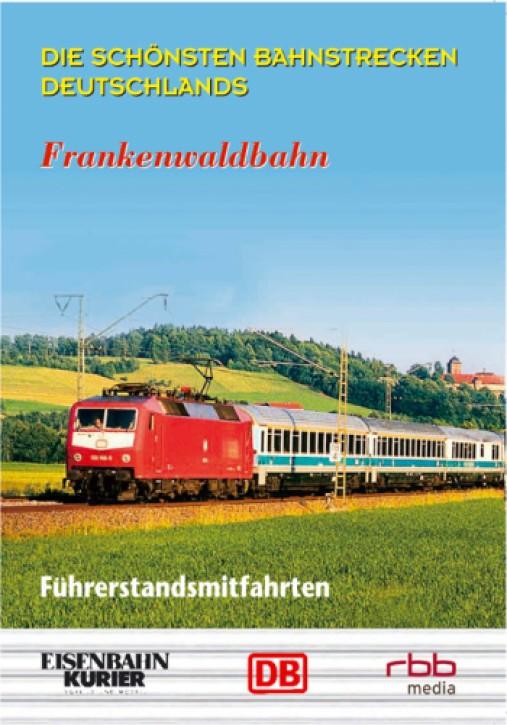DVD: Die schönsten Bahnstrecken Deutschlands. Frankenwaldbahn: Saalfeld - Nürnberg