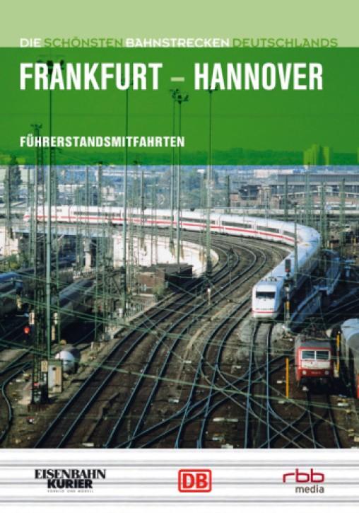 DVD: Die schönsten Bahnstrecken Deutschlands. ICE Frankfurt - Hannover