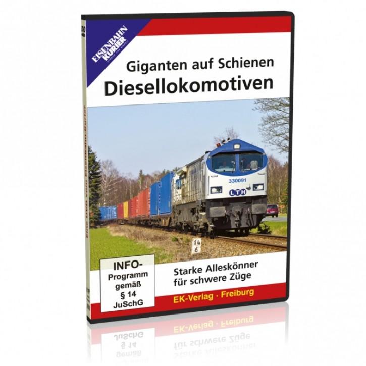 DVD: Giganten auf Schienen - Diesellokomotiven. Starke Alleskönner für schwere Züge
