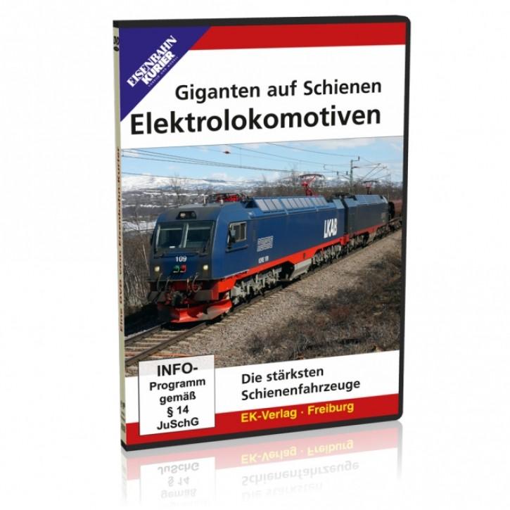 DVD: Giganten auf Schienen - Elektrolokomotiven. Die stärksten Schienenfahrzeuge
