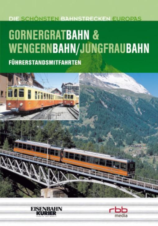 Doppel-DVD: Die schönsten Bahnstrecken Europas. Gornergratbahn Wengernalpbahn Jungfraubahn