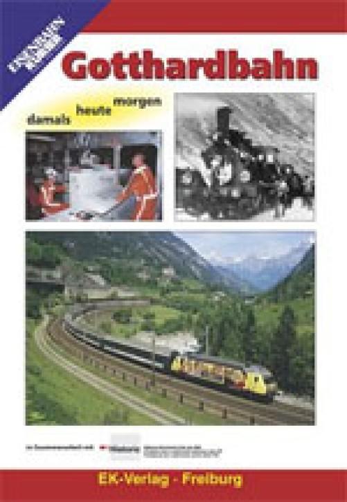 DVD: Gotthardbahn damals - heute - morgen