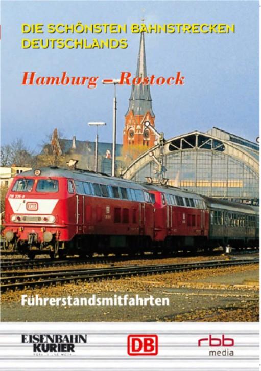 DVD: Die schönsten Bahnstrecken Deutschlands. Hamburg - Rostock