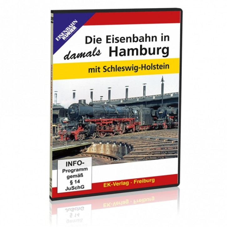 DVD: Die Eisenbahn in Hamburg - damals mit Schleswig-Holstein
