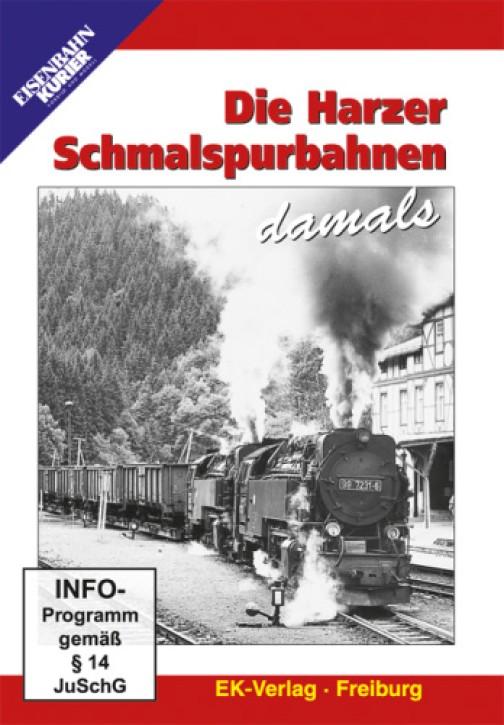 DVD: Die Harzer Schmalspurbahnen damals