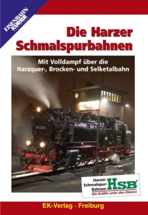 DVD: Die Harzer Schmalspurbahnen. Mit Volldampf über die Harzquer-, Brocken- und Seelketalbahn