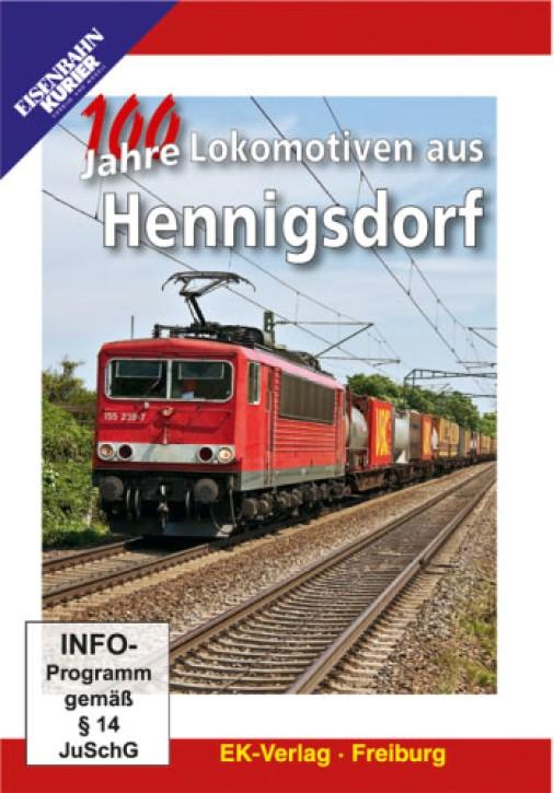 DVD: 100 Jahre Lokomotiven aus Hennigsdorf