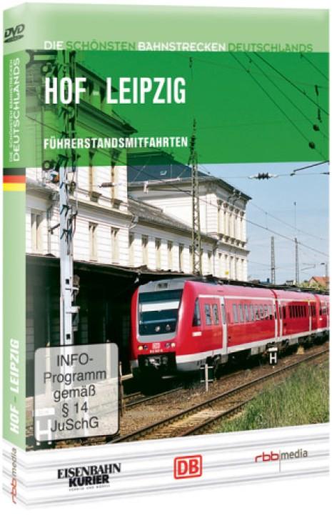 DVD: Die schönsten Bahnstrecken Deutschlands. Hof - Leipzig